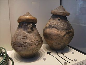 Bronze- and Iron-Age Poland - Pomeranian face urns