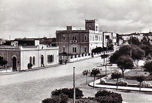 Gharyan - Old town during the 1940s