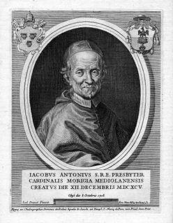 Giacomo Antonio Morigia Italian bishop (1633-1708)