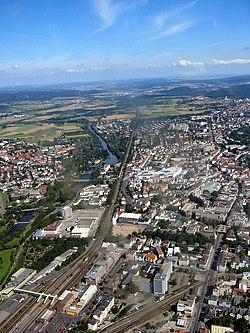Centrum i Gießen