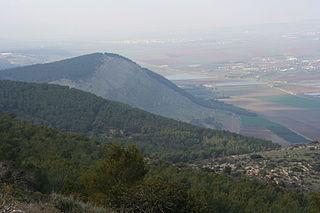 Mount Gilboa Mountain in Israel