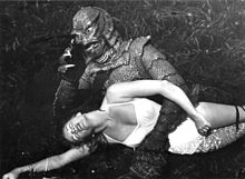 Ginger Stanley in the grip of the creature - Silver Springs, Florida (15483457078).jpg