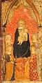 Giottino (attr.), madonna in trono col bambino e crocifissione, 1348-49, da s.m. nuova, fi (museo accademia) 03.jpg
