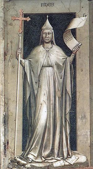Giotto - The Seven Virtues - Faith