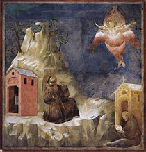 Giotto di Bondone - Legend of St Francis - 19. Stigmatization of St Francis - WGA09145.jpg