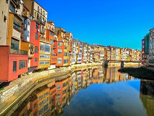 Girona riverside HDR