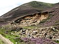 Glacial deposit, Glen Ey - geograph.org.uk - 917983.jpg