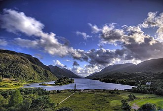 Loch Shiel - Loch Shiel and Glenfinnan monument