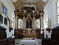 Gloggnitz - Schlosskirche, Hochaltar.JPG