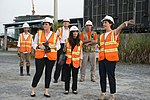Gloria Steele visits the dioxin remediation site in Danang Airport (29902360194).jpg