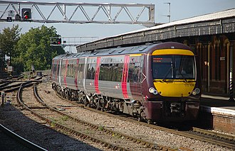 CrossCountry - Class 170 Turbostar at Gloucester in September 2009