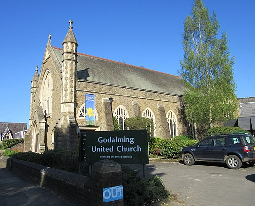 Godalming United Church, Bridge Road, Godalming (April 2015) (1)