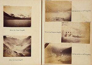 Gohna Lake dam-burst - Few pictures of Lake formed!