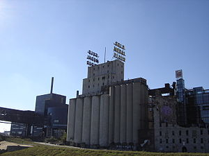 "General Mills - Washburn ""A"" Mill, the producer of Gold Medal Flour, now the Minnesota Historical Society Mill City Museum"