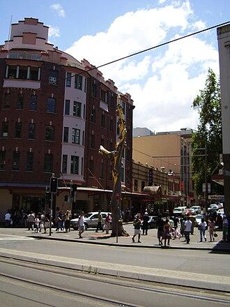Chinatown, Sydney - Image: Golden Water Mouth, Chinatown, Sydney, Australia