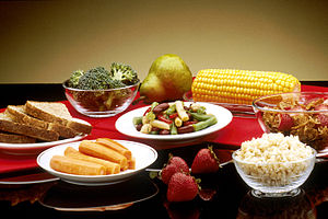 """Good"" foods such as vegetables, fru..."