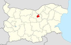 Gorna Oryahovitsa Municipality within Bulgaria and Veliko Tarnovo Province.