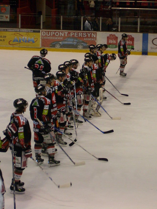 amiens gothique hockey