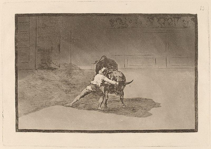 File:Goya - El famoso Martincho poniendo banderillas al quiebro.jpg