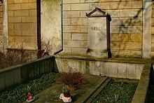 Carl Maria von Webers Grab auf dem Alten Katholischen Friedhof in Dresden (Quelle: Wikimedia)