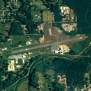 Chilton County Airport - NAIP aerial image, June 2006