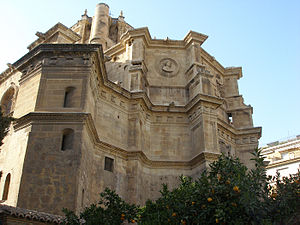 Apse of the church of San Jerome Monastery, in...