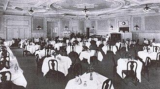 Grand Pacific Hotel (Chicago) - Image: Grand Pacific Hotel Empire Room