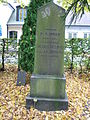 Grave of Nils Henrik Lovén in Lund Sweden.JPG
