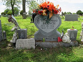 West Memphis Three - Grave of Stevie Branch