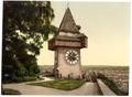 Graz, the clock, Styria, Austro-Hungary-LCCN2002710971.tif