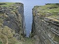 Great feature between the cliffs at Brough of Birsay - geograph.org.uk - 955082.jpg