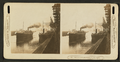 Great lake traffic, grain elevators and lake steamboats (?), from Robert N. Dennis collection of stereoscopic views.png