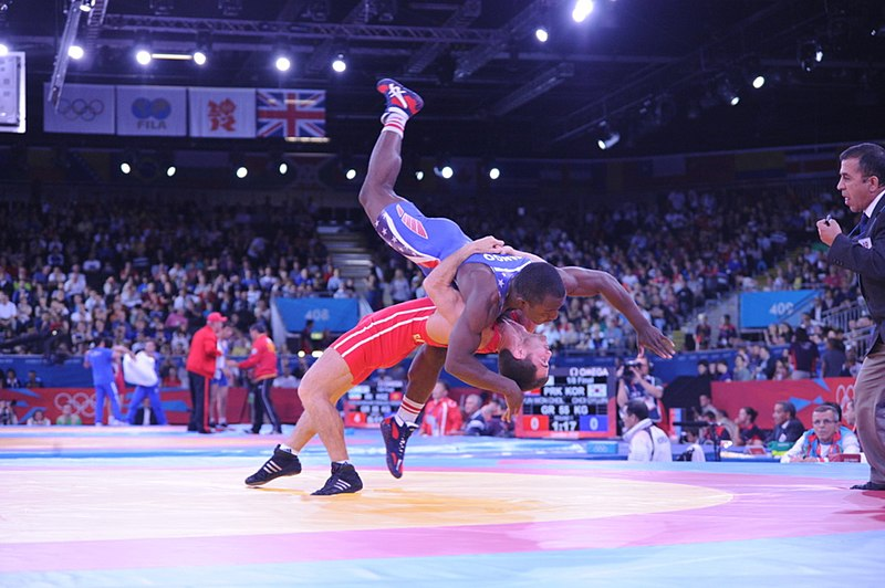 File:Greco-Roman wrestling competition of the London 2012 Games 4.jpg