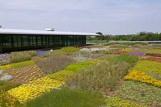 Chicago Botanic Garden - Green Roof Garden atop the Plant Science Center