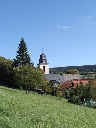 Greimerath, Trier-Saarburg - Greimerath, church St. Nikolaus.