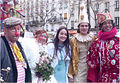 Groupe de carnavaleux - Photo prise au Carnaval de Paris 2010..jpg