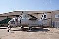 Grumman US-2B Tracker LSideFront CFM 7Oct2011 (15324848942).jpg