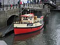 Guinness Boat Bar at Wardens Jetty - geograph.org.uk - 1445290.jpg