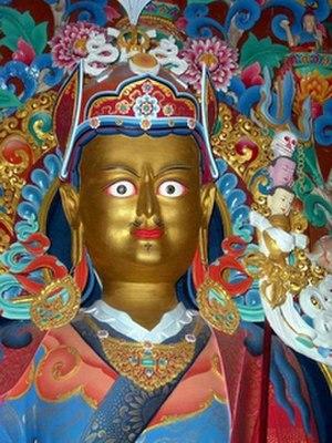 History of Tibetan Buddhism - Image: Guru Rinpoche Padmasambhava statue