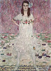 Mäda Primavesi. 1912. Oil on canvas. 150 × 110 cm. Metropolitan Museum of Art, New York.