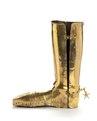 Gyllene rustningssko tillverkad för Johan Gyllenstierna 1660 - Livrustkammaren - 100709.tif