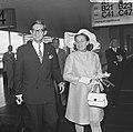 H. K. H. Prinses Margriet en Mr. Van Vollenhoven vertrekken naar het Congres van, Bestanddeelnr 922-7460.jpg