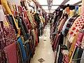 HK 上環 Sheung Wan 西港城 Western Market 花布街 Cloth shop January 2019 SSG 10.jpg