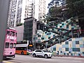 HK 城巴619線 CityBus view King's Road 炮台山 Fortress Hill stairs January 2019 SSG.jpg