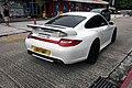 HK 2008年保時捷 出廠2009年 Model 997 C4S 3800cc teachact包圍 23吋吠鈴 Andy Chong white Porsche.jpg