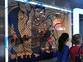HK Central Queen's Road LHT Tower GAP clothing shop window superman Oct-2012.JPG