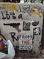 HK SW 上環 Sheung Wan 太平山街 Tai Ping Shan Street graffiti shot gun 2020 SS2 01.jpg