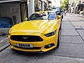 HK SW 上環 Sheung Wan 太平山街 Tai Ping Shan Street yellow parking Ford June 2020 SS2 01.jpg