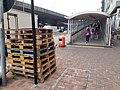 HK SYP 西營盤 Sai Ying Pun 干諾道西 Connaught Road West 中山紀念公園行人天橋 Sun Yat Sen Memorial Park footbridge March 2020 SS2 09.jpg