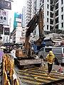 HK Sai Ying Pun Queen's Road West people at work September 2020 SS2.jpg